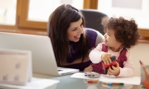 mom-work-home